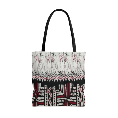 African Fabric Tote Bag KECHI-AFRICAN-NUBY