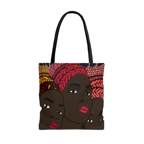 African American Tote Bag SOUL SISTERS-Front-View