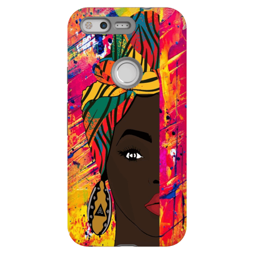 Afro Girl Phone Case IMANY