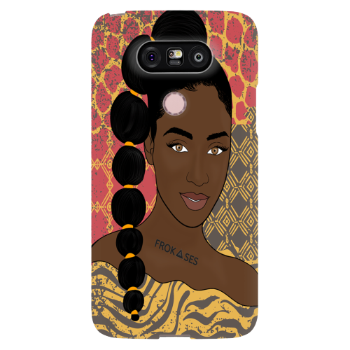Afro Girl Phone Case KWENI