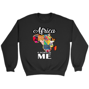 AFRICA IS BORN IN ME Hoodie