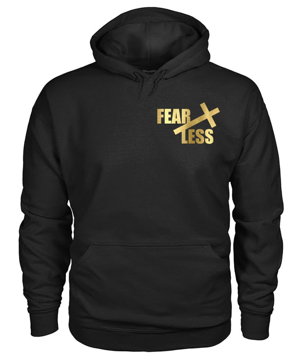 Unisex FearLess Christian Black TShirt
