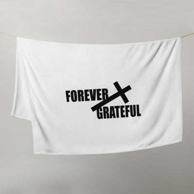 Forever Grateful Throw Blanket