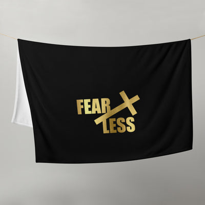 Fear Less Throw Blanket