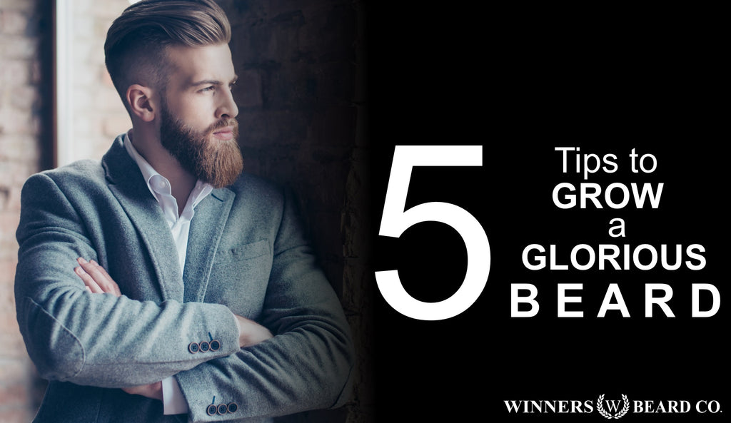 5 Tips to Grow a Glorious Beard