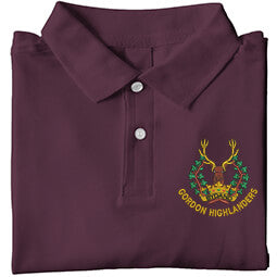 Gordon Highlanders Army Licensed Embroidered T-Shirt
