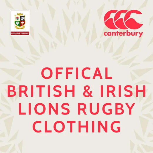 British and Irish Lions 2021 Official Rugby Clothing