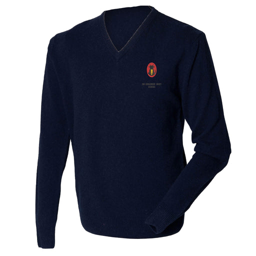 101 Engineer Regiment EOD&S Lambswool V-Neck Jumper