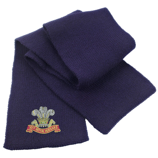 10th Royal Hussars Heavy Knit Scarf