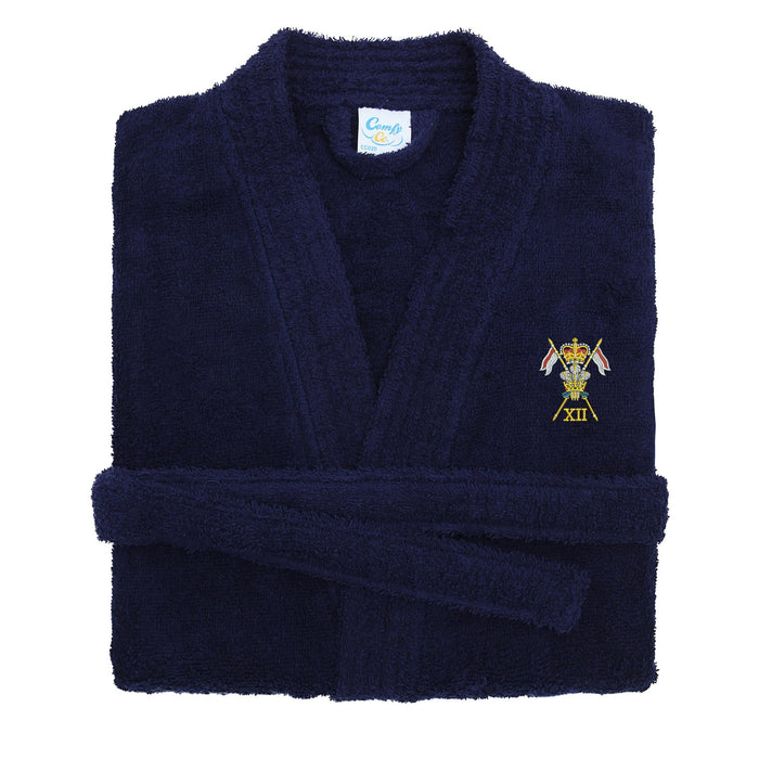 12th Royal Lancers Dressing Gown