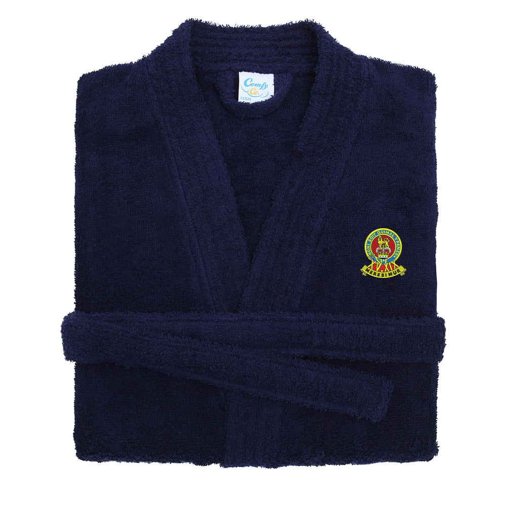 15th/19th Kings Royal Hussars Dressing Gown