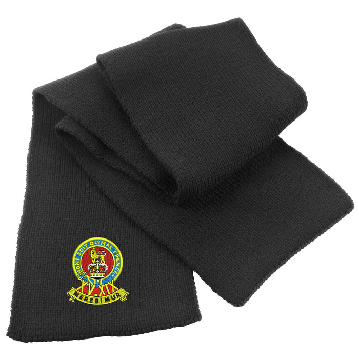 15th/19th Royal Kings Hussars Heavy Knit Scarf
