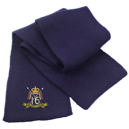 16th/5th The Queen's Royal Lancers Heavy Knit Scarf