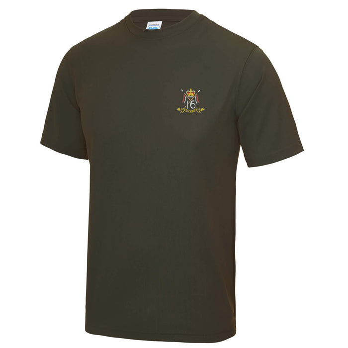 16th/5th The Queen's Royal Lancers Sports T-Shirt
