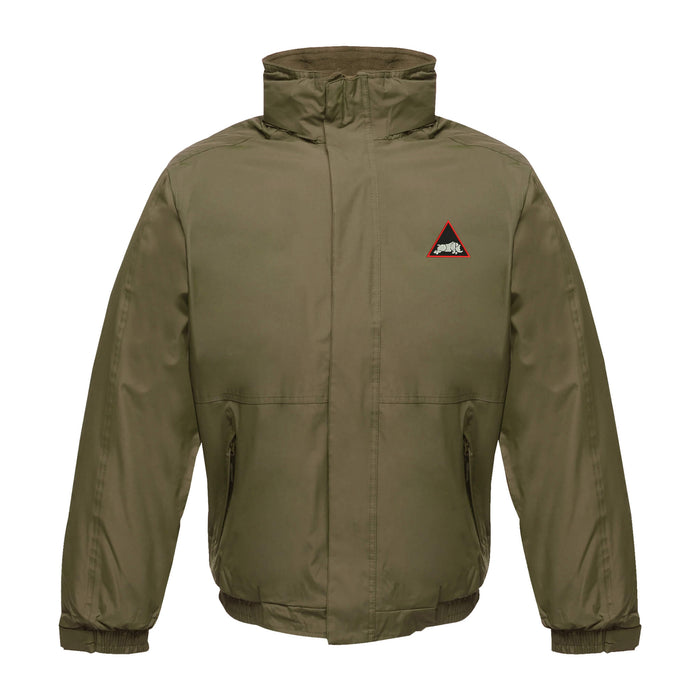 1st Armoured Division Waterproof Jacket