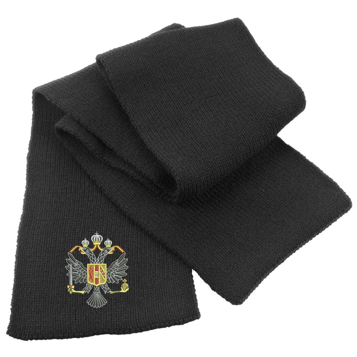1st Queen's Dragoon Guards Heavy Knit Scarf