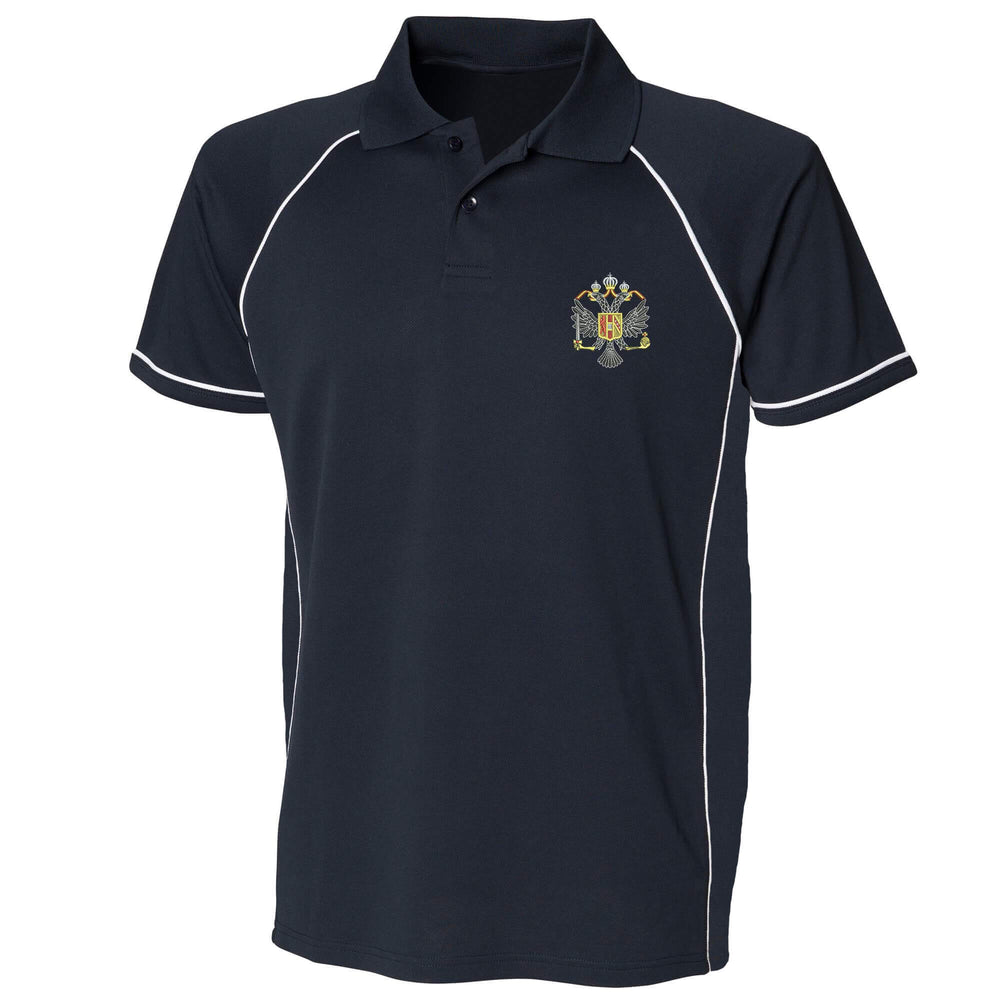 1st Queen's Dragoon Guards Performance Polo
