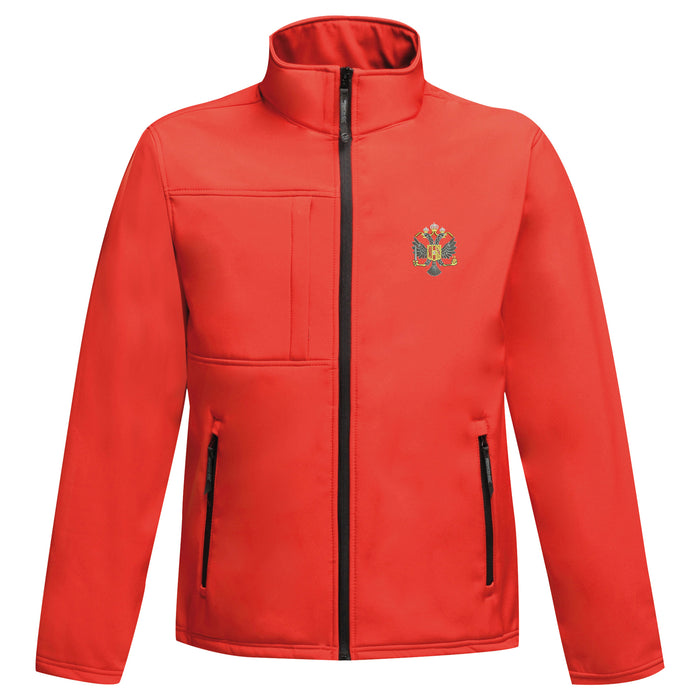 1st Queen's Dragoon Guards Softshell Jacket