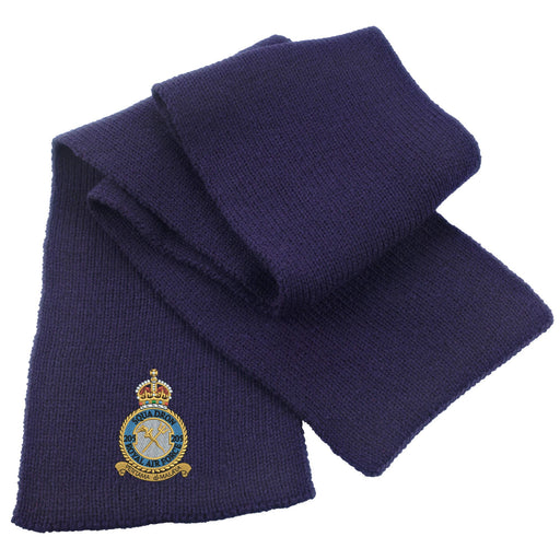 205 Squadron Royal Air Force Heavy Knit Scarf