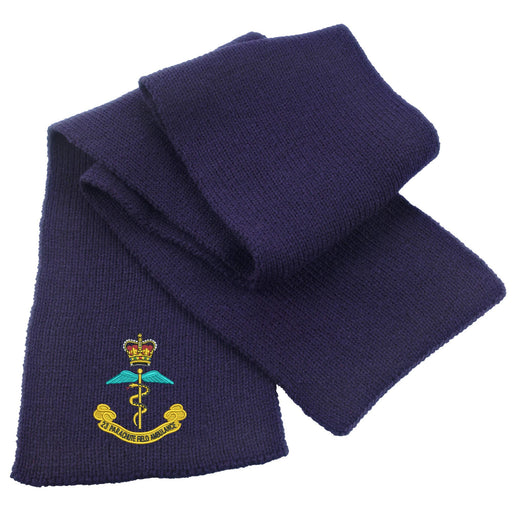 23rd Parachute Field Ambulance Heavy Knit Scarf