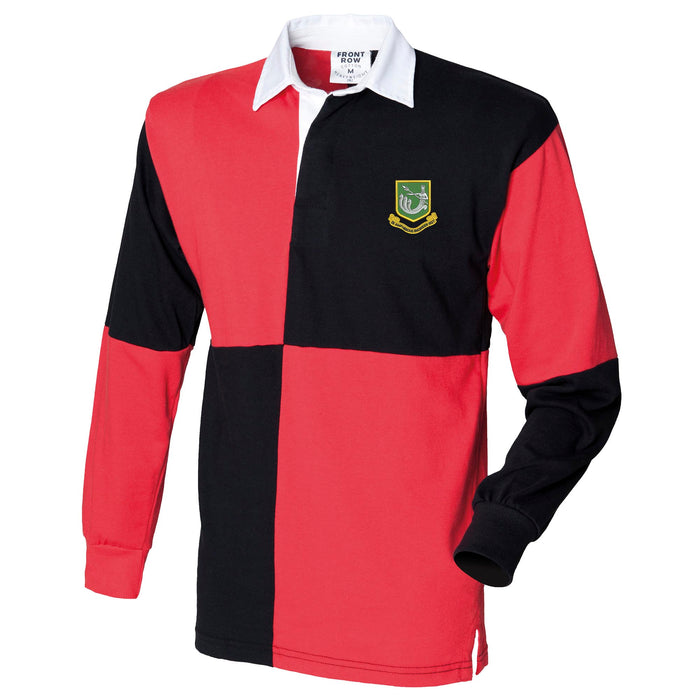 28 Amphibious Engineer Regiment Long Sleeve Quartered Rugby Shirt