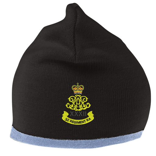 32 Regiment Royal Artillery Beanie Hat