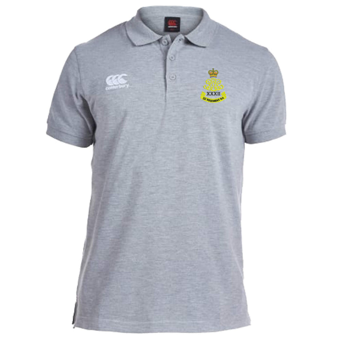 32 Regiment Royal Artillery Canterbury Rugby Polo