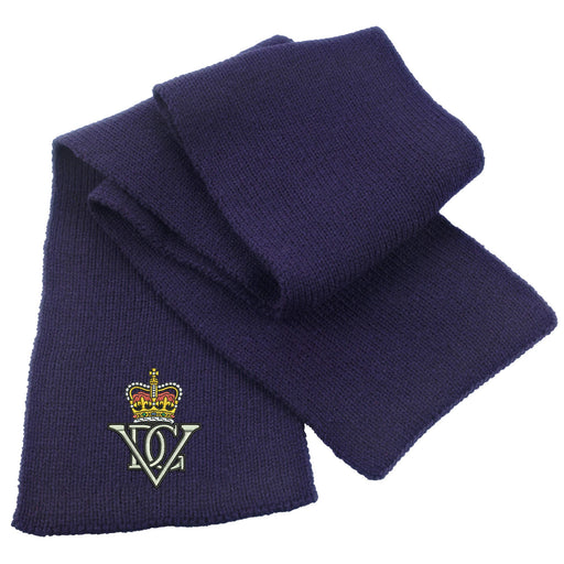 5th Royal Inniskilling Dragoon Guards Heavy Knit Scarf
