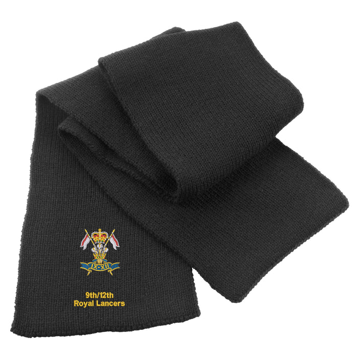 9th/12th Royal Lancers Heavy Knit Scarf