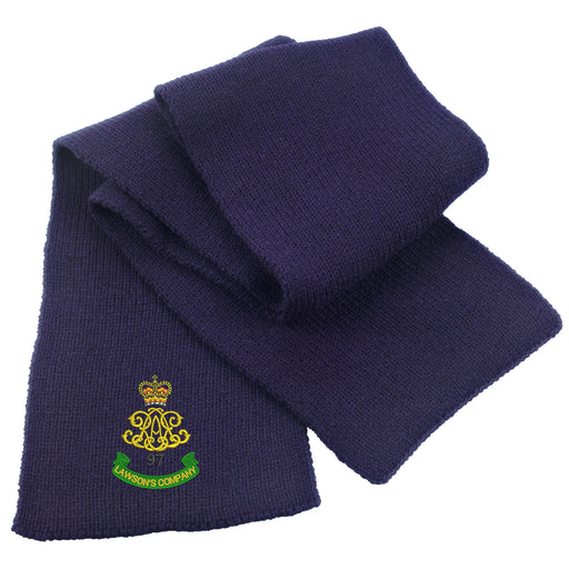 97 Battery (Lawson's Company) Royal Artillery Heavy Knit Scarf