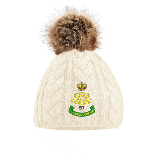 97 Battery (Lawson's Company) Royal Artillery Pom Pom Beanie Hat