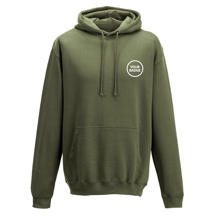 Armed Forces Embroidered Hoodie - Choose Your Badge
