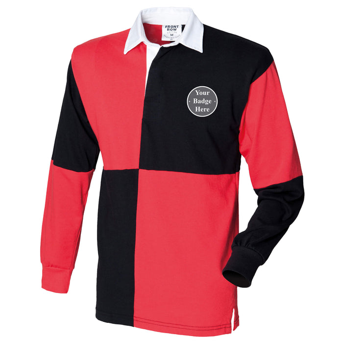 Canadian Forces Long Sleeve Quartered Rugby Shirt
