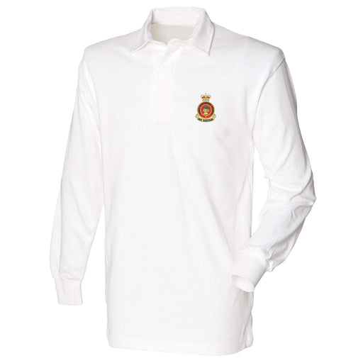 Army Catering Corps Long Sleeve Rugby Shirt