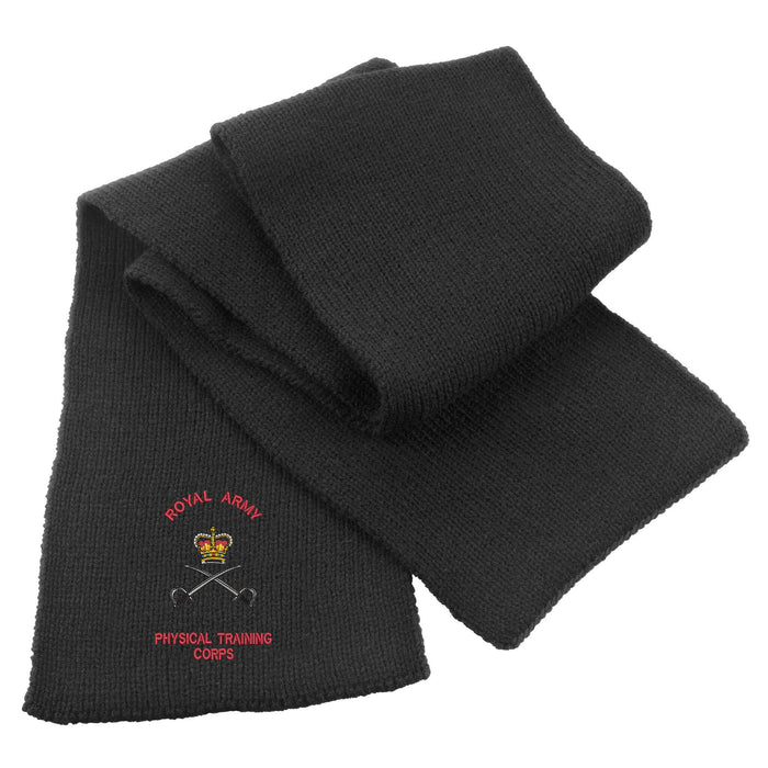 Army Physical Training Heavy Knit Scarf