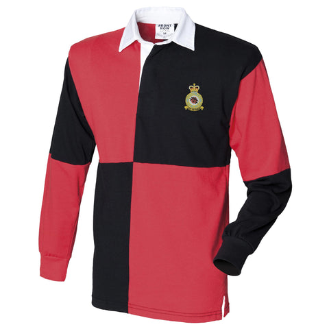 Battle of Britain Memorial Flight Long Sleeve Quartered Rugby Shirt