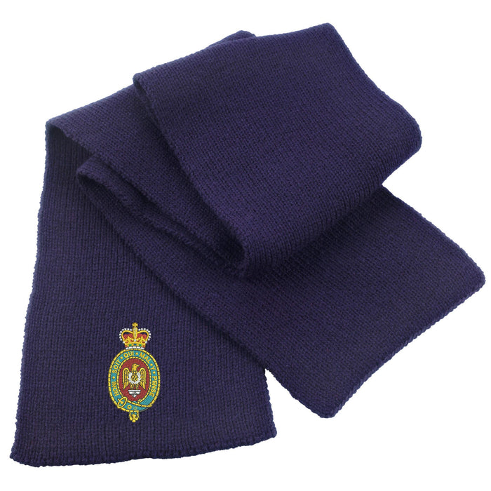 Blues and Royals Heavy Knit Scarf