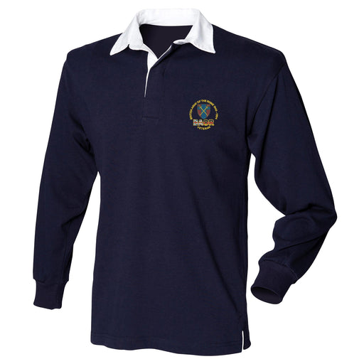 British Army of the Rhine Long Sleeve Rugby Shirt