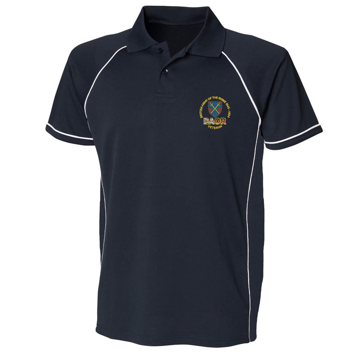 British Army of the Rhine Performance Polo
