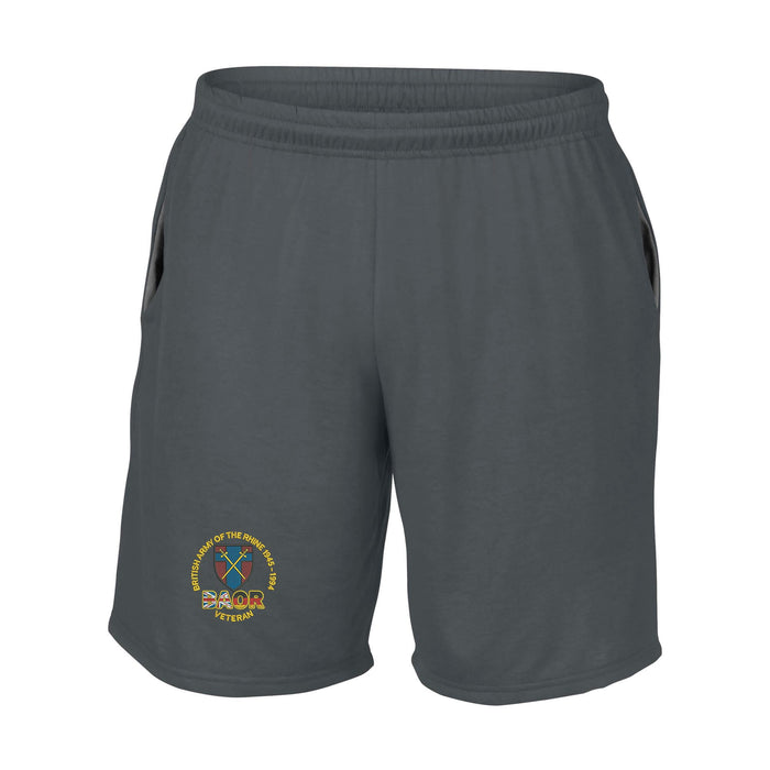 British Army of the Rhine Performance Shorts