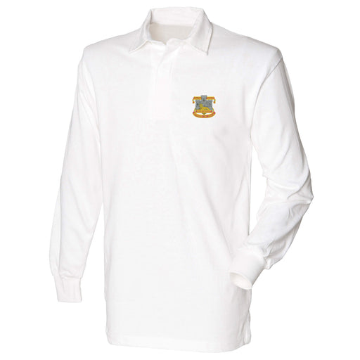 Devon and Dorset Regiment Long Sleeve Rugby Shirt