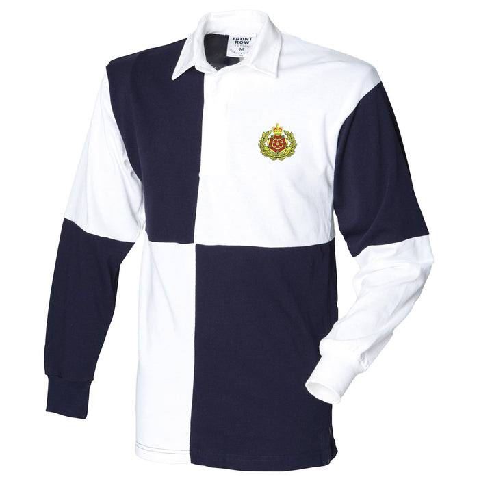 Duke of Lancaster's Regiment Long Sleeve Quartered Rugby Shirt
