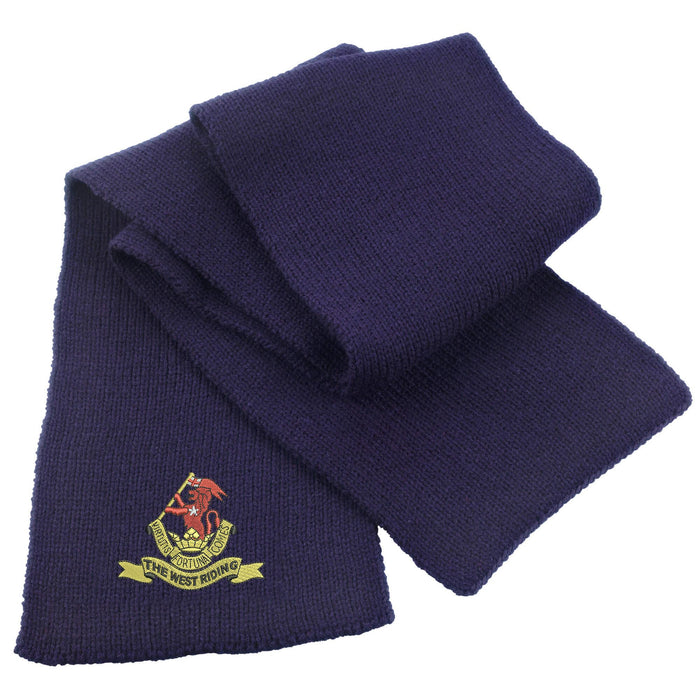 Duke of Wellington's Regiment Heavy Knit Scarf