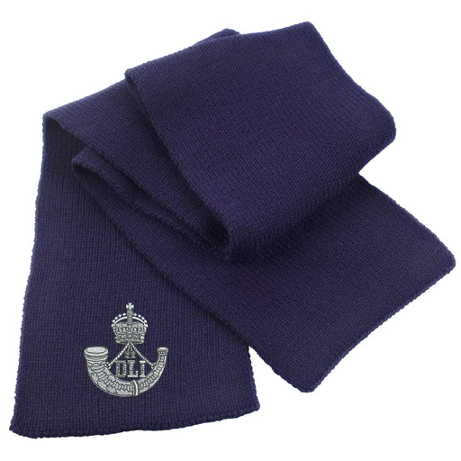 Durham Light Infantry Heavy Knit Scarf
