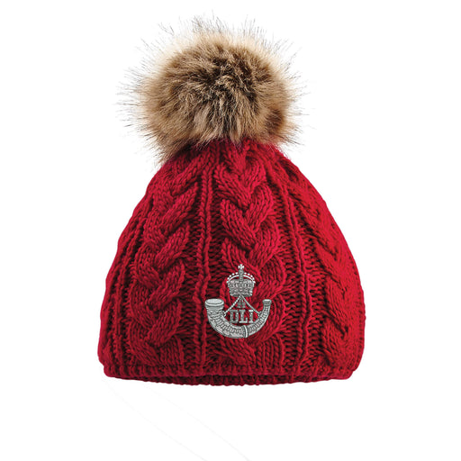 Durham Light Infantry Pom Pom Beanie Hat