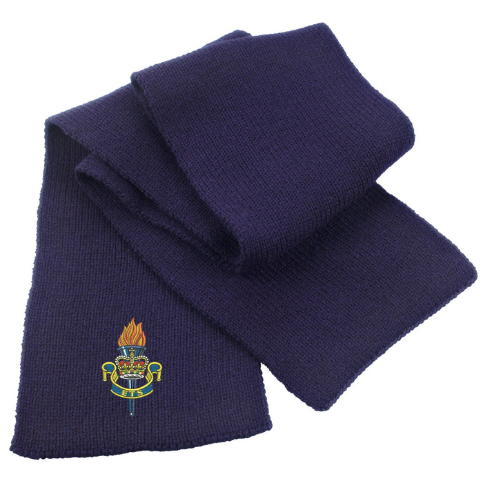 Educational and Training Services Heavy Knit Scarf