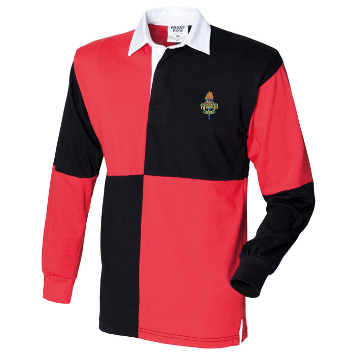 Educational and Training Services Long Sleeve Quartered Rugby Shirt