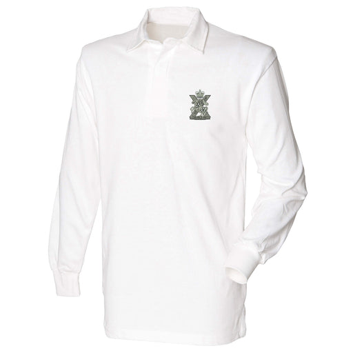 Fife and Forfar Yeomanry/Scottish Horse Long Sleeve Rugby Shirt