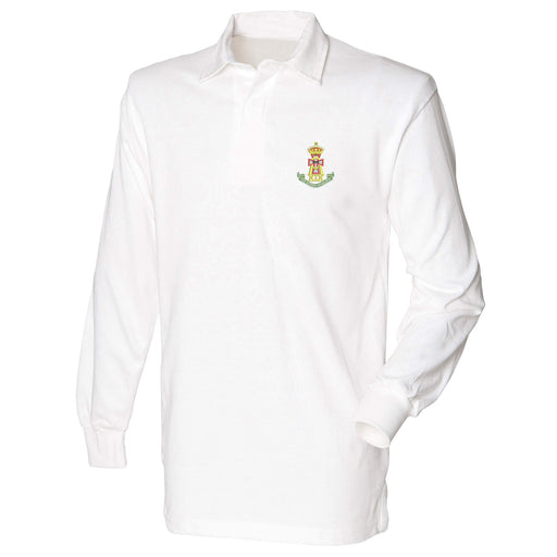 Green Howards Long Sleeve Rugby Shirt