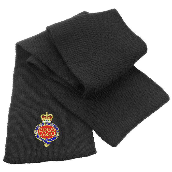 Grenadier Guards Heavy Knit Scarf